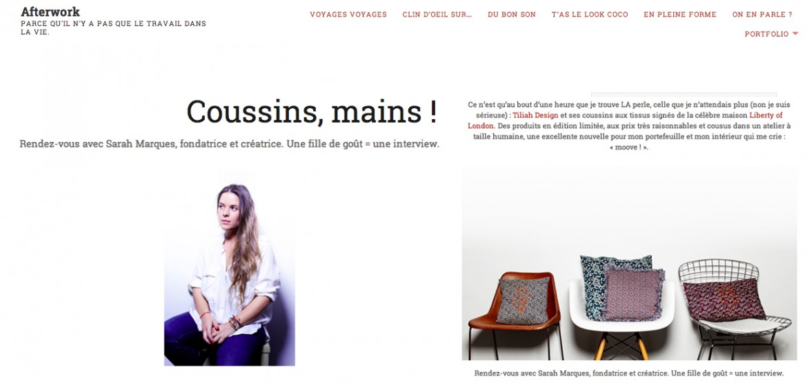 FAUSTINEFRANCOIS.COM-BLOG AFTERWORK 14-11-2014-tiliah-design-paris-déco-coussins-fait-main-interview-sarah-marques p7